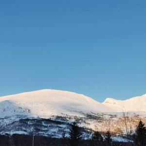Storhaugen Lyngen Nord Norge